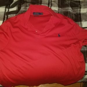 red Ralph Lauren Golf Polo Large